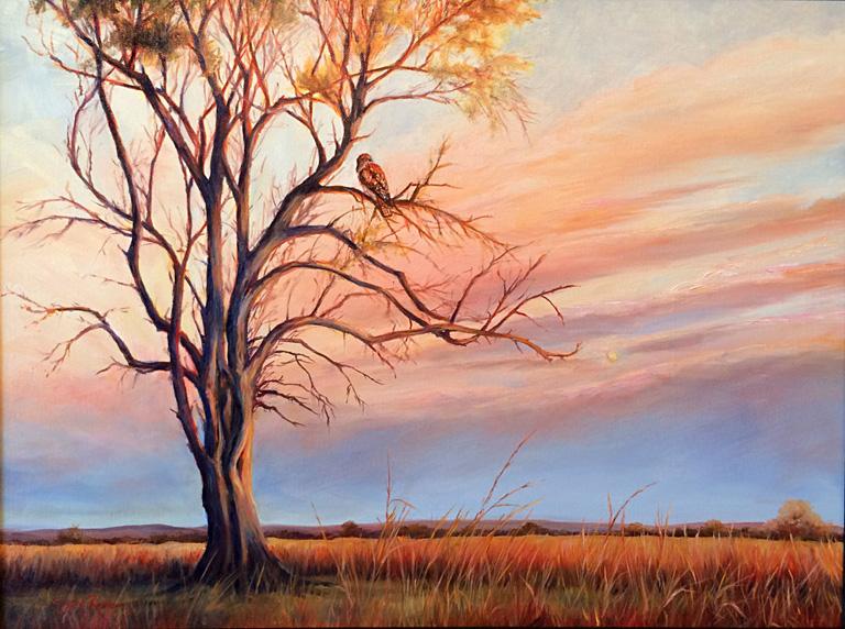 Dawn's Early Light 18x24 oc $750 fr*