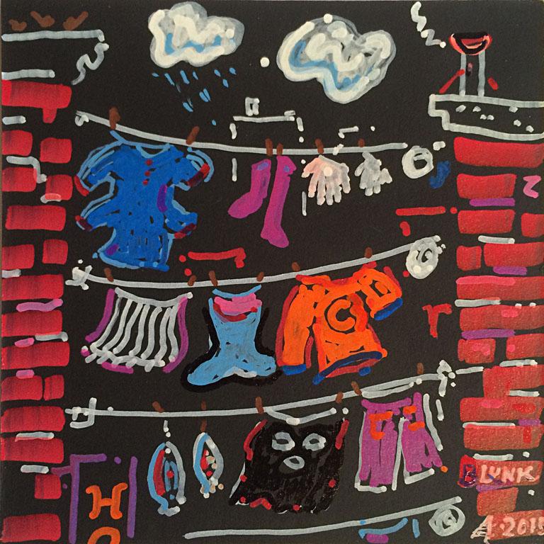 Washday #3 6x6 op $120 fr