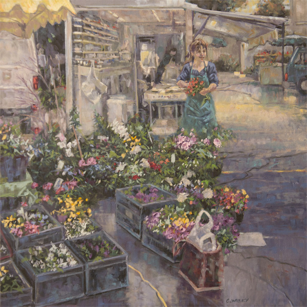Summer Flower Market 24x24 oc $1,575