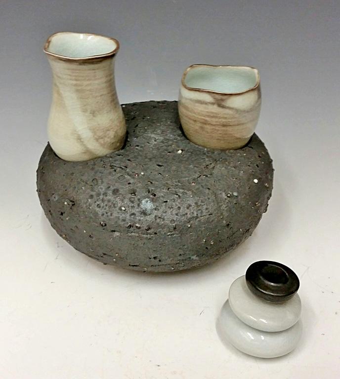 Nesting Cup Set #1 9x7x7 porcelain $110