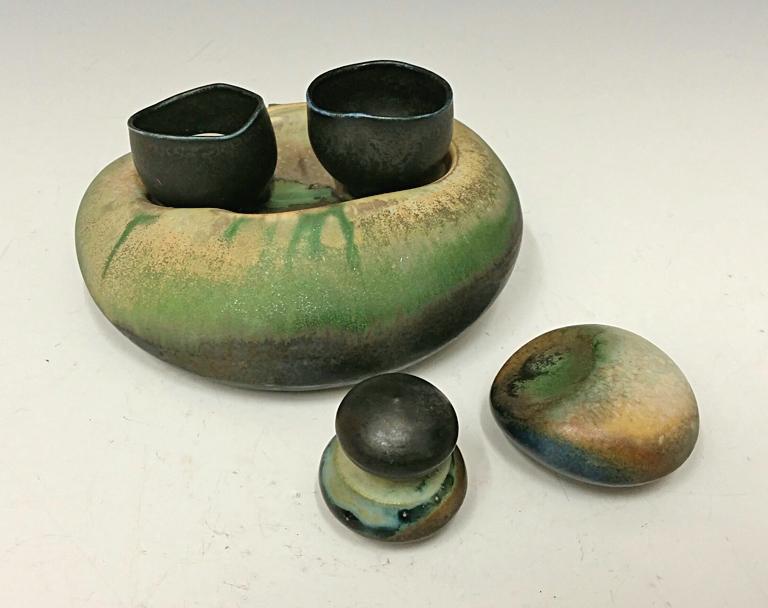 Nesting Cup Set #4 6x4x2.5 porcelain $58