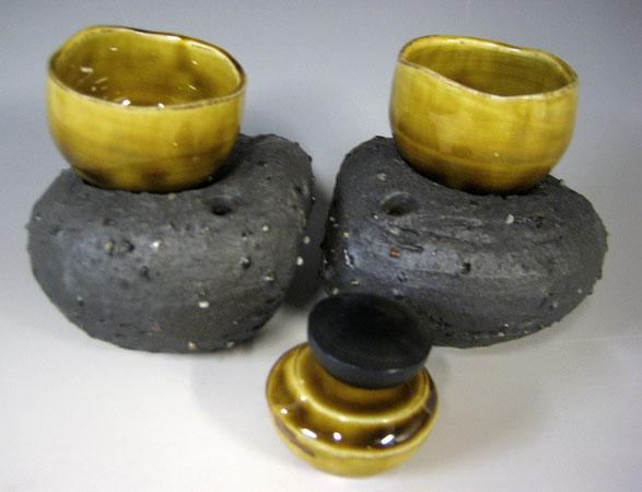 Nesting Cup Set #8 7x5x3.5 porcelain $68