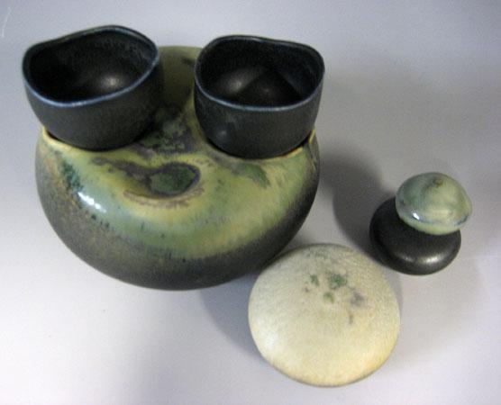 Nesting Cup Set #11 6x4x2.5 porcelain $58