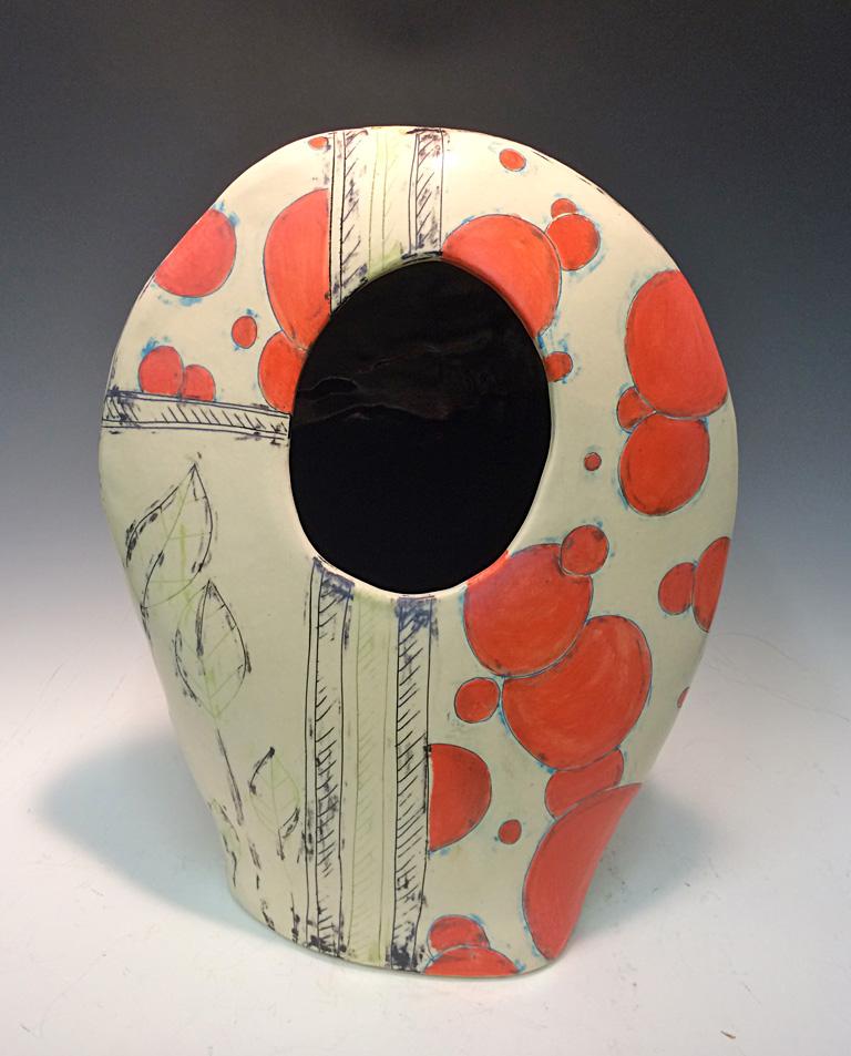 Mary Mary Quite Contrary 22x11x4 ceramic $150