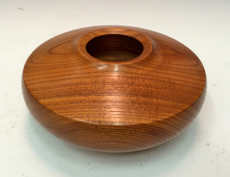 Osage Orange Shallow Vase  2.5x5x5  osage orange wood  $65