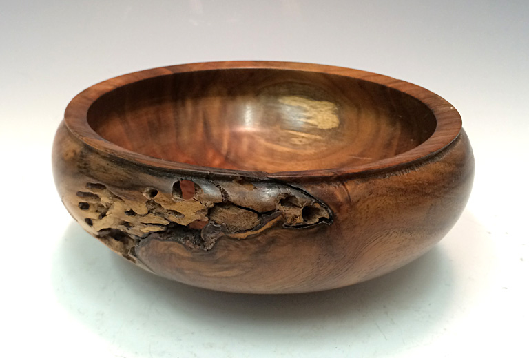 Relic Bowl  2.5x6x6  walnut wood  SOLD