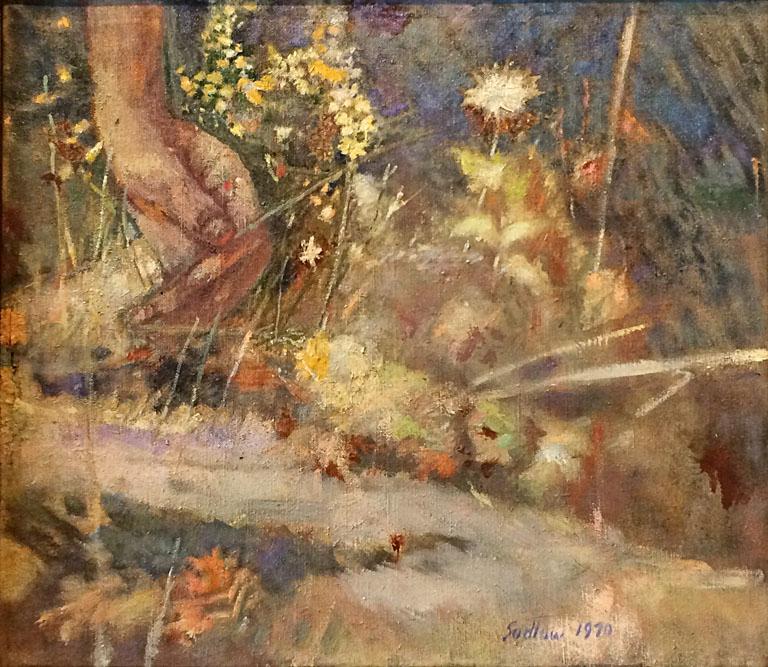 Reaching Into Autumn (1970) 18x16 oc $1,400 fr