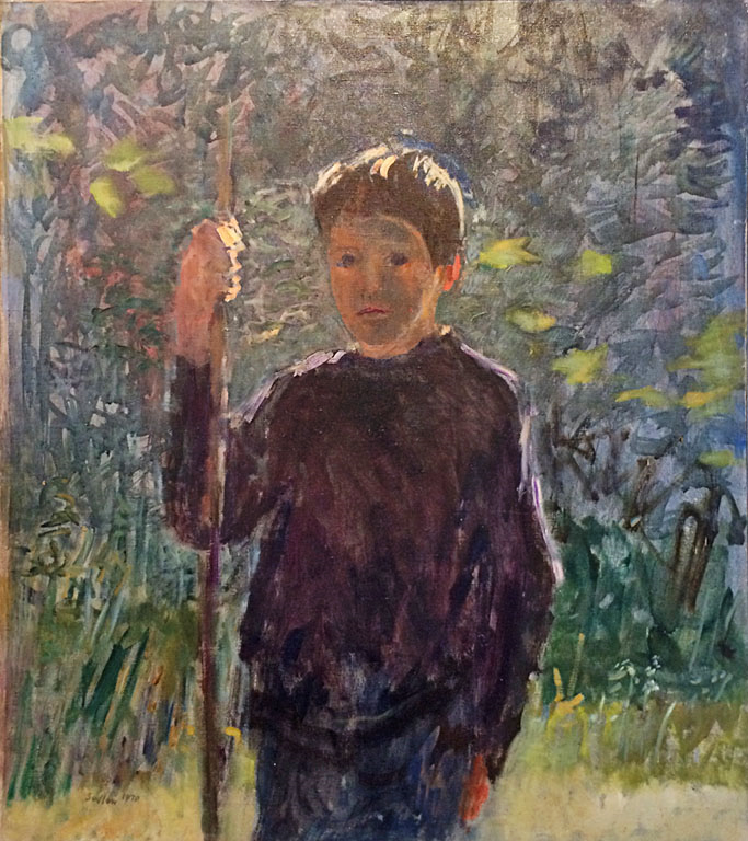 Peter, Late Afternoon (1969)  34x30  oc  $2,400