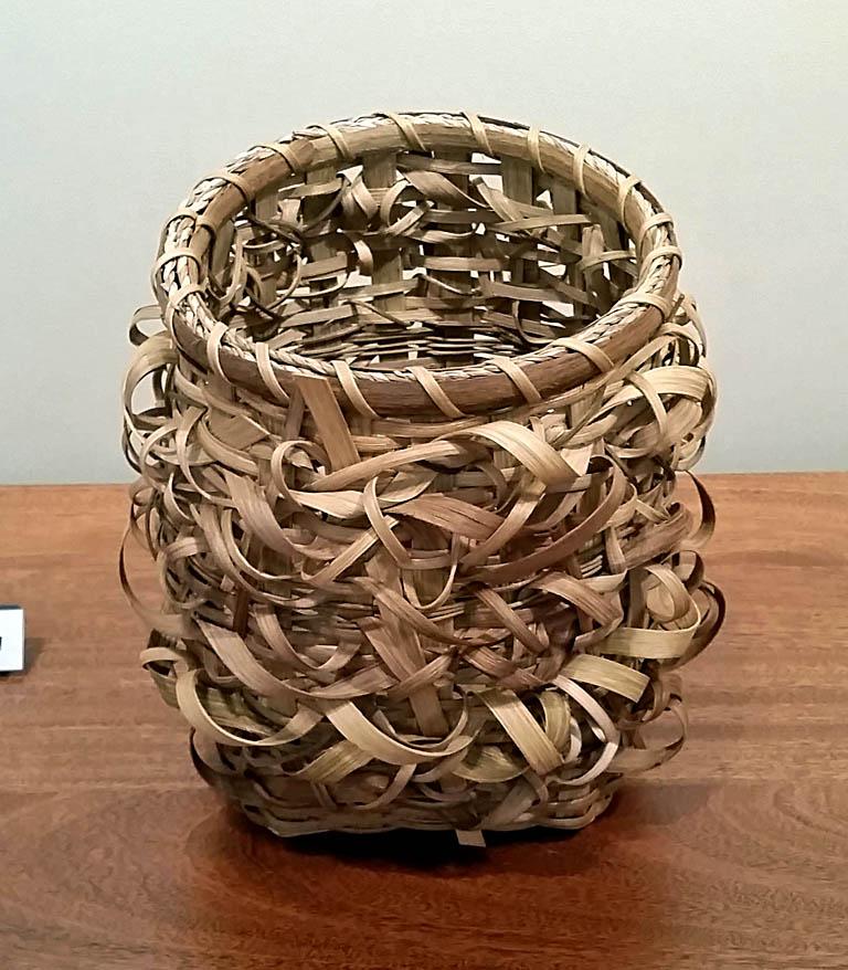 Prairie Wind 12x11 woven basket $275