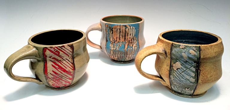 Assorted Coffee Mugs ceramic $32 ea.