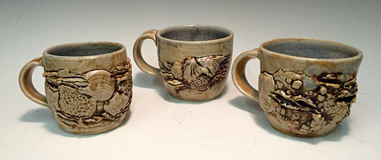 Fossils of the Future Mugs ceramic $20 ea.