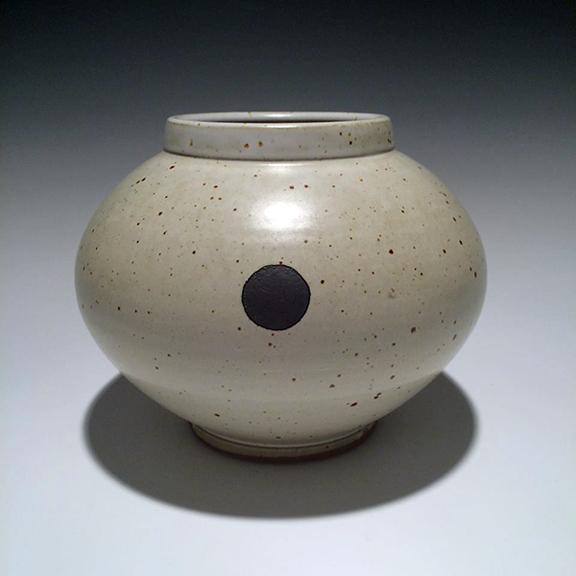 Vase #14 7x9x9 ceramic $85