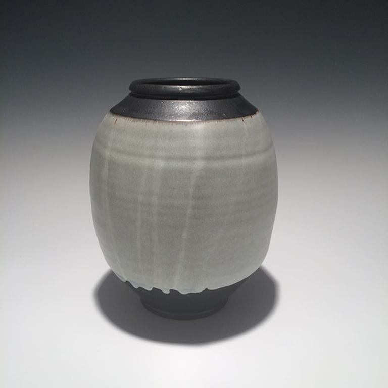 Vase #15 10x8.25x8.25 ceramic $125