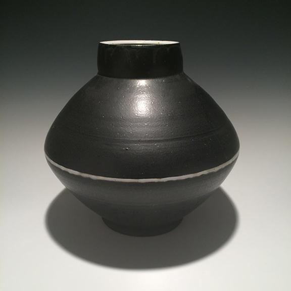 Vase #20 12x12.75x12.75 ceramic $225