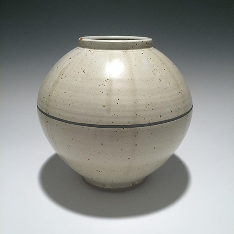 Vase #28 9.75x10x10 ceramic $165