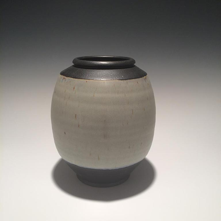 Vase #30 9x8x8 ceramic $125