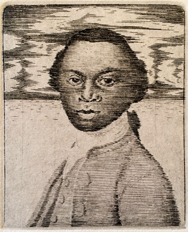 Alaudo Equiano, 13 of 25  5x4  engraving  $160 fr
