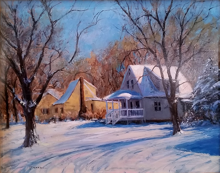 January Afternoon  16x20  op  $1,600 fr