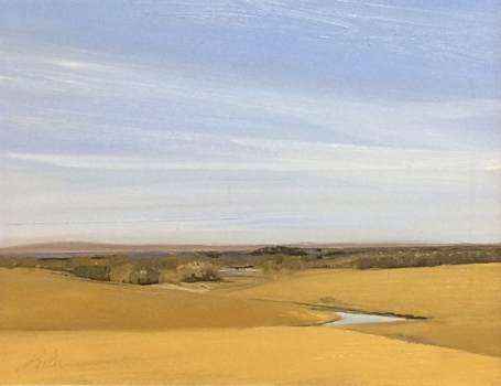 Prairie Endures 11x14 oc $1,200 fr