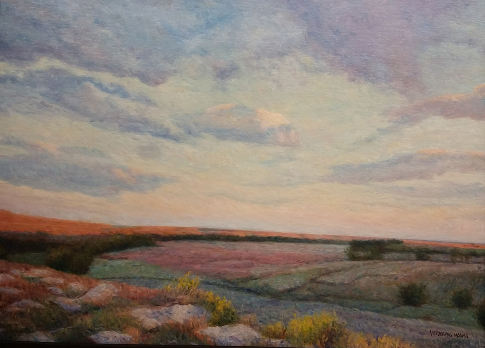 Early Morning At Coyne Creek Ranch 16x20 oc $800 fr