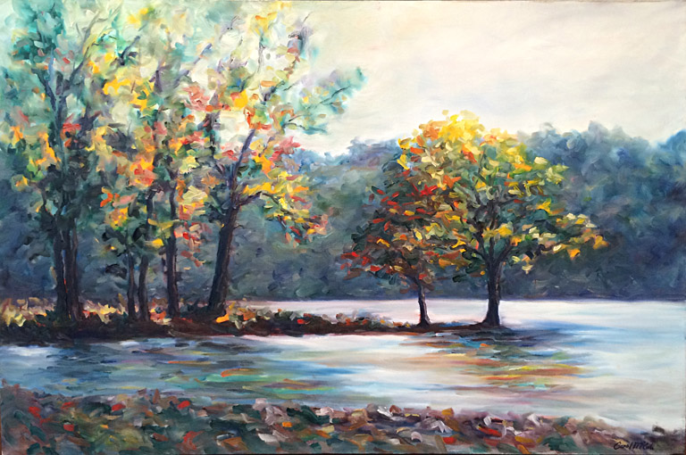 Lakeside  24x36  oc  $1,200