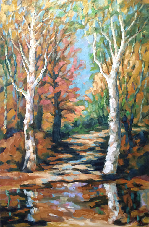 Reflective Path  36x24  oc  $1,300