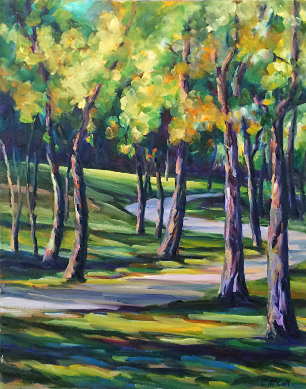 Walnut Grove Path  30x24  oc  $950