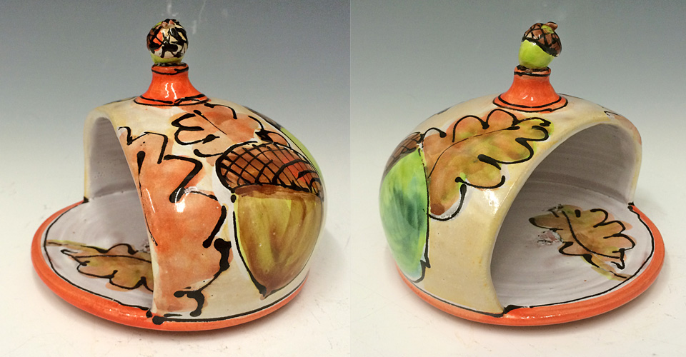 Acorn Sponge Ball 5x6x6 ceramic $40
