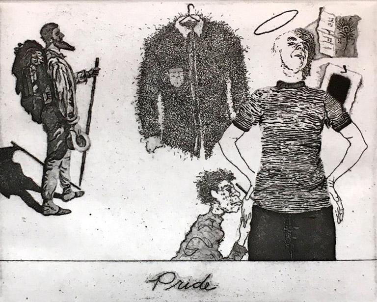 Pride 6x8 etching $350 fr