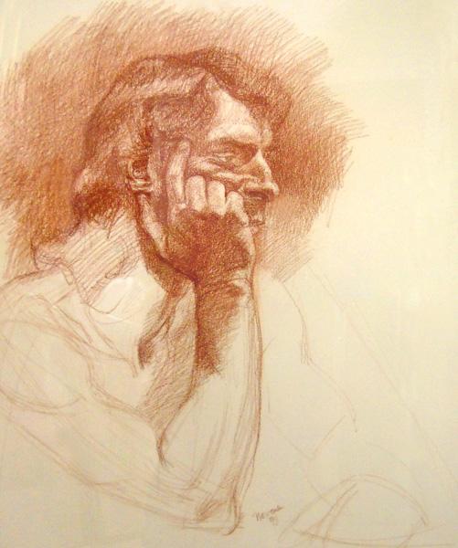 Drawing 1 - 23x20 pastel $800 fr