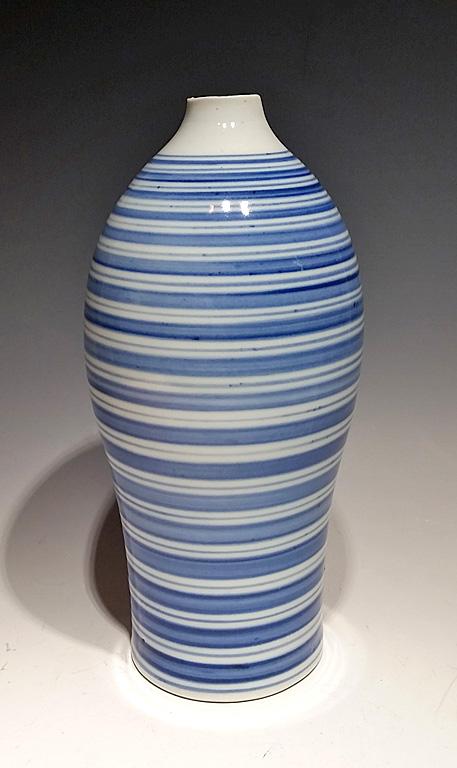 Blue Ripple I porcelain $175