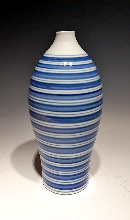 Blue Ripple III porcelain $175