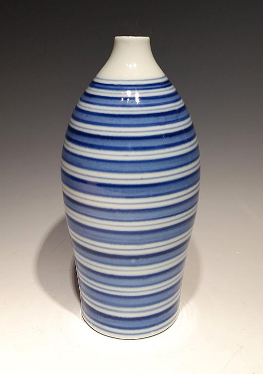Blue Ripple IV porcelain $175