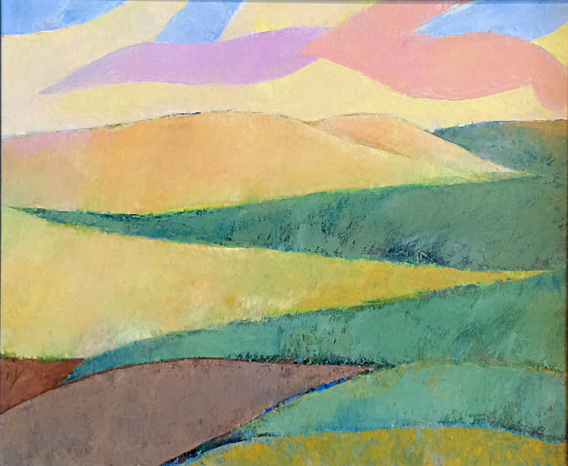 Flint Hills Patterns 3  20x24  oc  $1,100