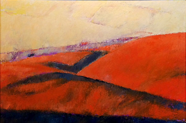 Flint Hills Patterns 4 24x36  oc  $1,600 fr