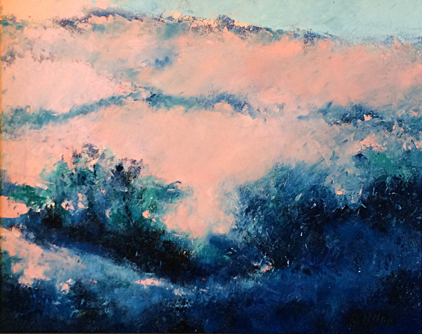 Misty Morning  16x20  oc  $800 fr