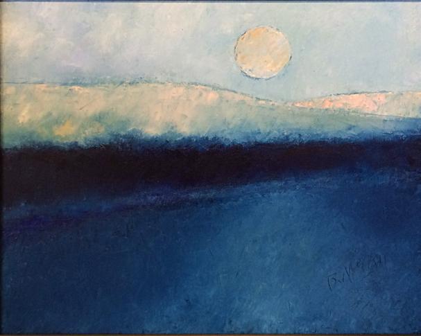 Prairie Moon 16x20 oc $800 fr