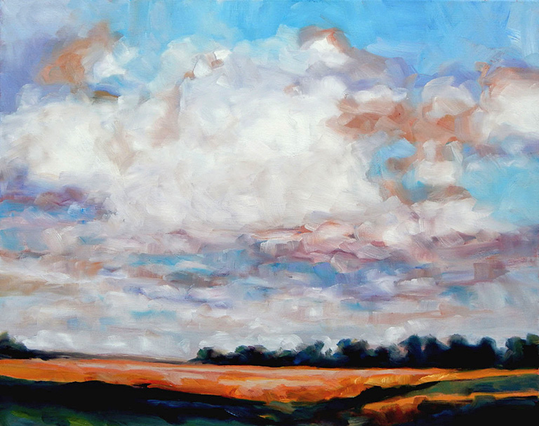 Prairie Meadow  24x30  oc  $1,400 fr