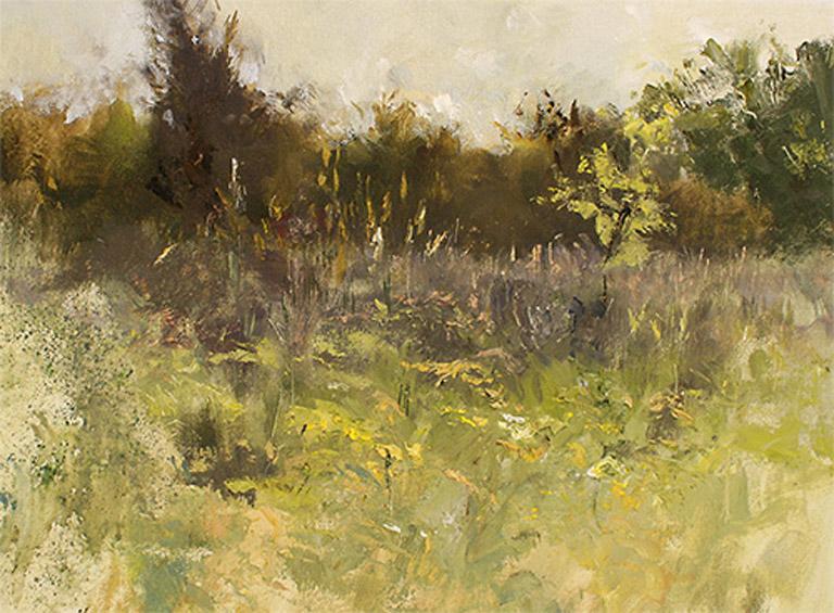 Goldenrod at Paint Creek 12x16 oc $1,100 fr