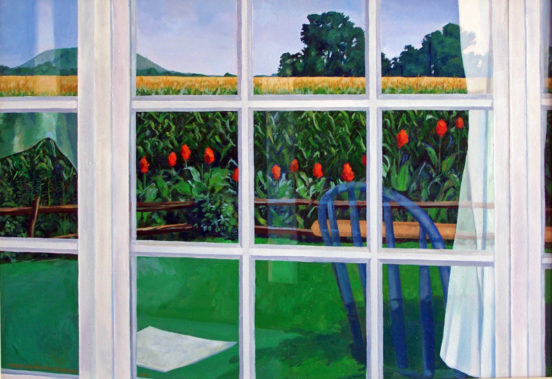 Cannas By the Corn 28x40 oc SOLD