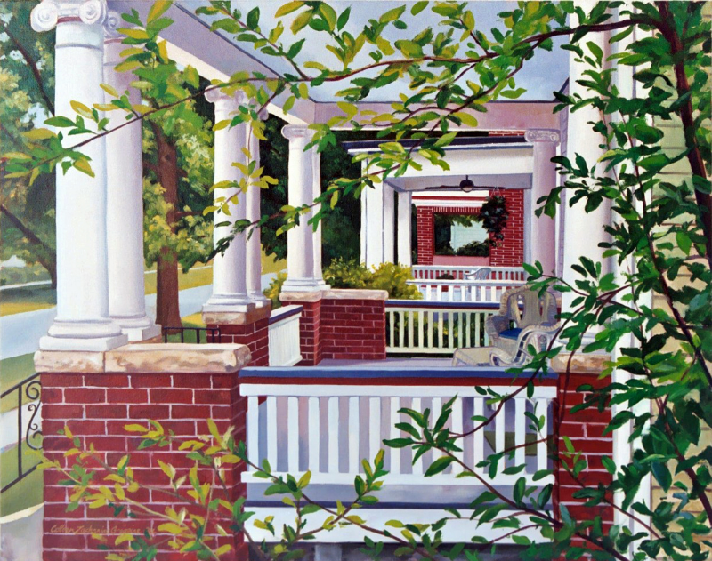 Porch to Porch 24x30 oc SOLD