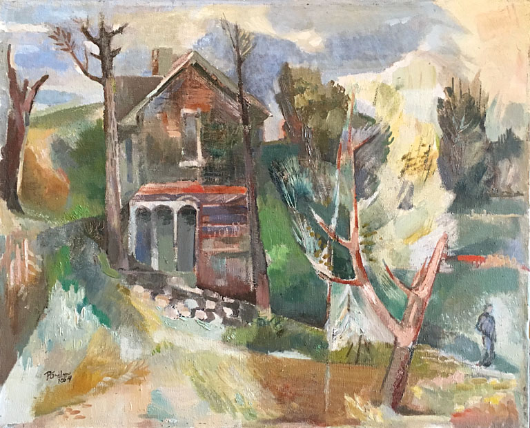Abandoned House (1954) 18x22 oc $1,970 fr