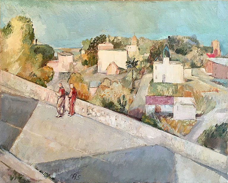 Bright Street (1948) 24x30 oc $2,550 fr