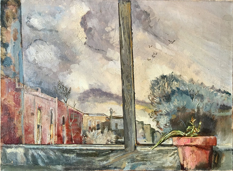 From Ireland's Studio (1948) 22x30 oc $2,600 fr