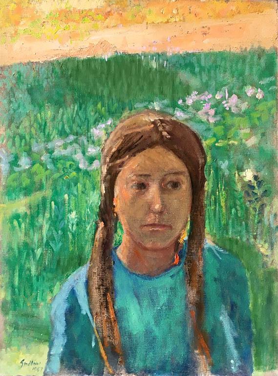 Gretchen (1967) 24x18 oc $1,200 fr