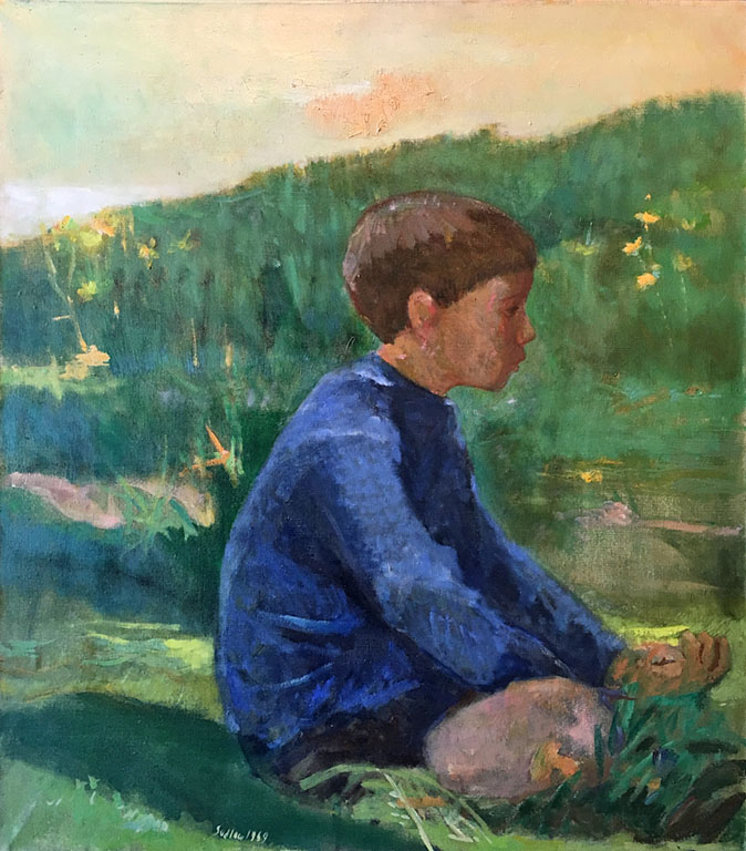 Peter in the Green Field (1969)  oc  $3,250 fr