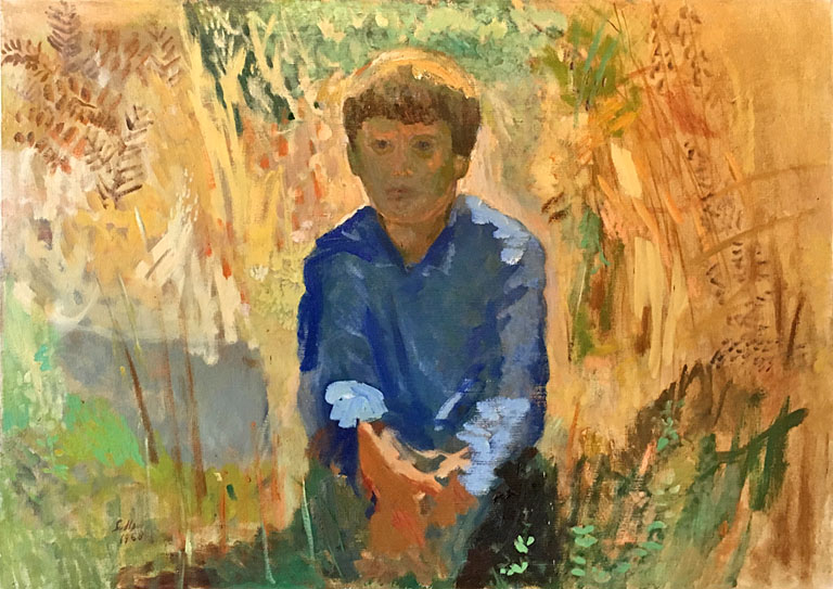 Peter in the Morning Sunlight (1963) 26x36 oc $2,650 fr