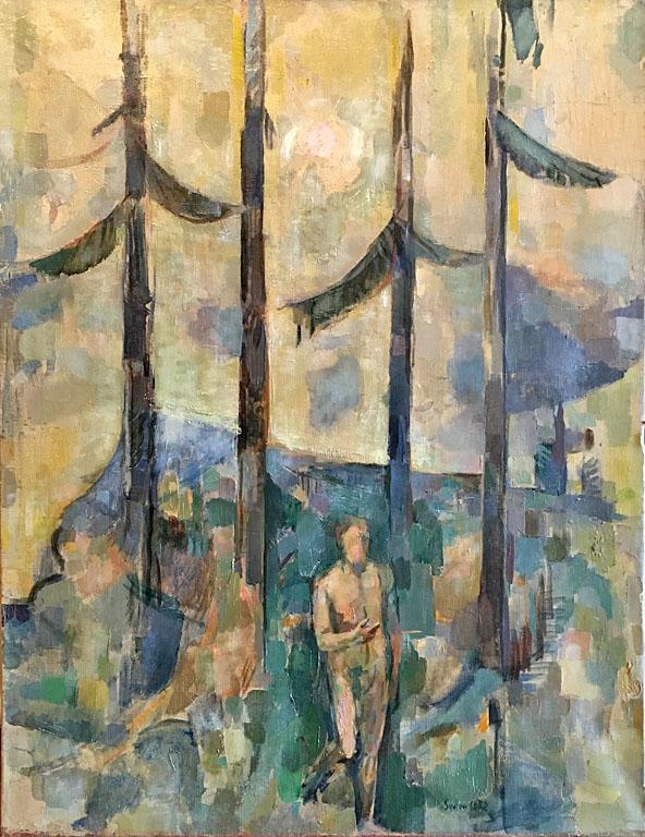 St. John, Paris (1952)  25.5x20 oc $2,000 fr