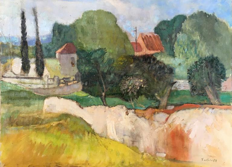 Kifissa Villiage (1965) 29x39.5 oc $3,260 fr