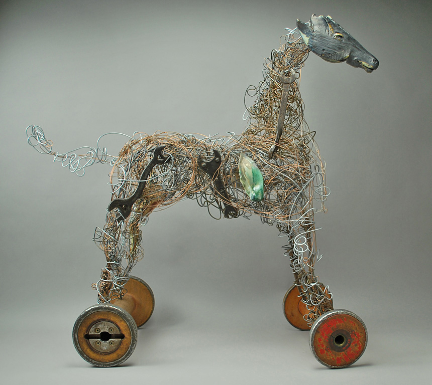Network Horse 31x31x12 mm $2,400